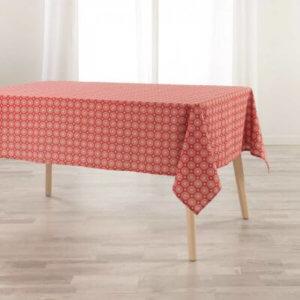 Tischdecke rot/weiss