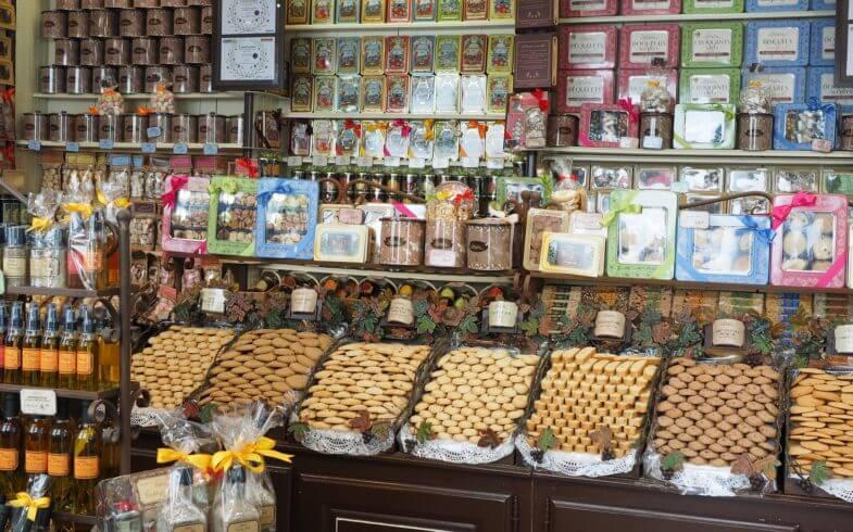 Süßigkeiten aus Burgund