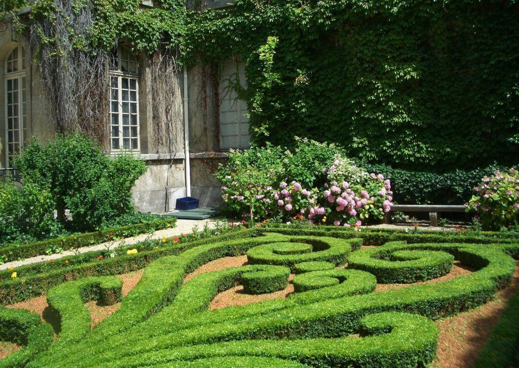 Parks und Gärten im Burgund